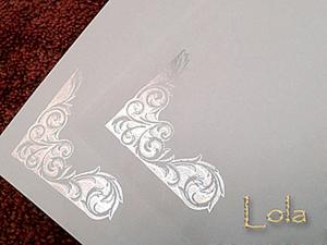 Тиснение с помощью ламинатора и фольги. Ярмарка Мастеров - ручная работа, handmade.