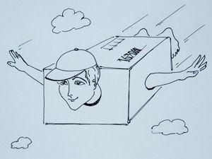 Упаковка изделия сложной формы для пересылки почтой. Ярмарка Мастеров - ручная работа, handmade.