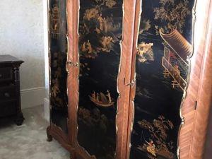 Наш шкаф в стиле шинуазри в новом доме!. Ярмарка Мастеров - ручная работа, handmade.