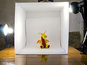Домашняя бюджетная фотостудия для предметной съёмки. Ярмарка Мастеров - ручная работа, handmade.