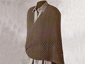 Красота и удобство датской шали с Фарерских островов. Ярмарка Мастеров - ручная работа, handmade.