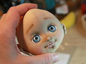 Мастер-класс: делаем кукольную головку из хлопка. Ярмарка Мастеров - ручная работа, handmade.