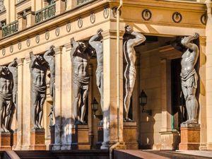 Духовная должность: стена, колонна, атлант. Ярмарка Мастеров - ручная работа, handmade.