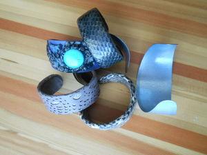 Формование основы для браслета. Ярмарка Мастеров - ручная работа, handmade.