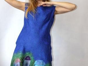 Видео платья с городом!. Ярмарка Мастеров - ручная работа, handmade.