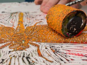 Линогравюра — печатаем на открытках, футболках, стенах! Часть 1. Ярмарка Мастеров - ручная работа, handmade.