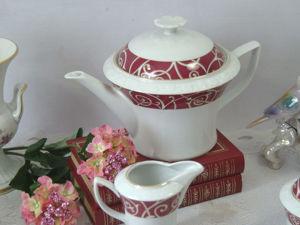 Чайный сервиз  Thun Чехия. Ярмарка Мастеров - ручная работа, handmade.