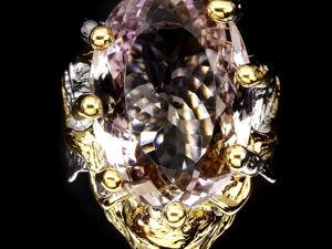 Видео ! Кольцо  «Фавн»  с натуральным аметрином. Бесплатная доставка. Ярмарка Мастеров - ручная работа, handmade.