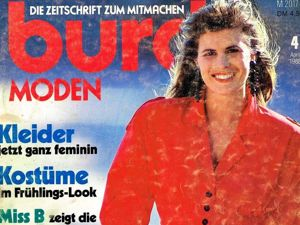 Парад моделей Burda Moden № 4/1988. Немецкое Издание. Ярмарка Мастеров - ручная работа, handmade.