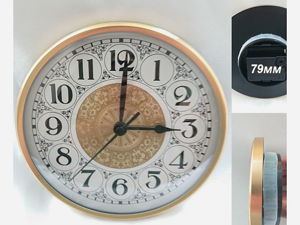 Часовая капсула, часовой механизм на 152мм бесшумный. Ярмарка Мастеров - ручная работа, handmade.