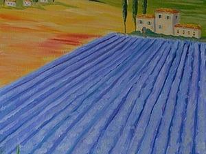 """Живопись масляными красками. Пишем картину """"Тоскана"""". Ярмарка Мастеров - ручная работа, handmade."""