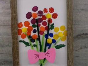 Делаем букет для мамы. Ярмарка Мастеров - ручная работа, handmade.