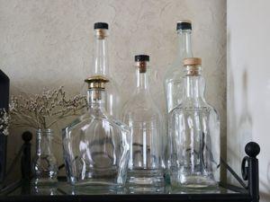 Магазин стеклянных бутылочек ОТКРЫТ. Приглашаю за покупками!. Ярмарка Мастеров - ручная работа, handmade.