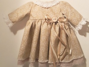 Шьем пасхальную зайку в стиле тильда. Часть 3: платье. Ярмарка Мастеров - ручная работа, handmade.