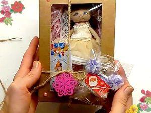 Так упаковываю текстильные куклы (видео). Ярмарка Мастеров - ручная работа, handmade.