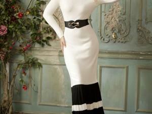 Аукцион на Эффектное вязаное платье! Старт 3000 руб.!. Ярмарка Мастеров - ручная работа, handmade.