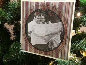 Новогодняя открытка. Ярмарка Мастеров - ручная работа, handmade.