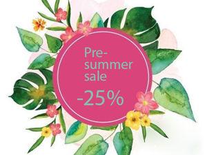 Распродажа Pre-summer sale — 25% c 17 по 24 мая. Ярмарка Мастеров - ручная работа, handmade.