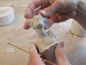 Тонкости литья и сборки фарфоровой фигурки с приставными частями. Ярмарка Мастеров - ручная работа, handmade.