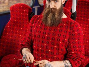 Фотограф Джозеф Форд и Нина Додд вяжут забавные свитера «для маскировки». Ярмарка Мастеров - ручная работа, handmade.