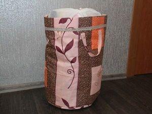 Шьем кофр для игрушек из подручных материалов. Ярмарка Мастеров - ручная работа, handmade.