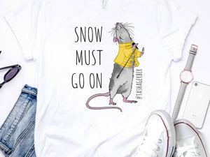 Хулиганские крысы на Новый год в подарок для всех!. Ярмарка Мастеров - ручная работа, handmade.