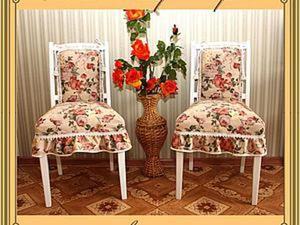 Обновляем старые стулья. Часть первая. Ярмарка Мастеров - ручная работа, handmade.