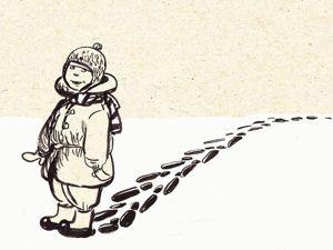Назад в прошлое. Образ детства в рисунках Евгении Двоскиной. Ярмарка Мастеров - ручная работа, handmade.
