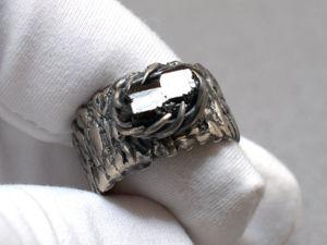 Перстень с турмалином (видео). Ярмарка Мастеров - ручная работа, handmade.