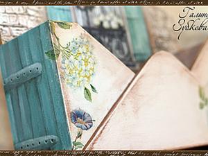 """Ключница """"Окно в цветах"""".. Ярмарка Мастеров - ручная работа, handmade."""