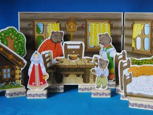 «Три медведя»  приехали в детский сад города Владимира. Ярмарка Мастеров - ручная работа, handmade.
