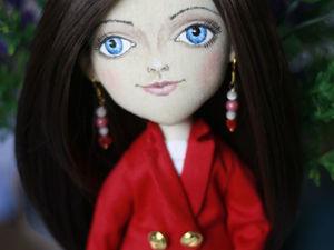 Видео мастер-класс: шьём жакет для куклы. Ярмарка Мастеров - ручная работа, handmade.