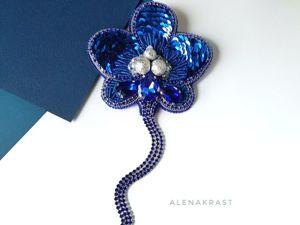 Видео броши Орхидея. Ярмарка Мастеров - ручная работа, handmade.