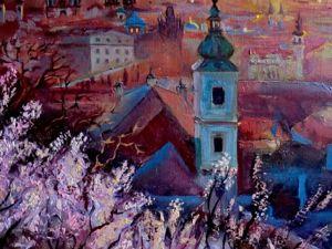 Прага весной. Ярмарка Мастеров - ручная работа, handmade.