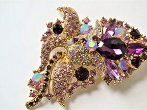 Цветные сны! Ожерелья, броши...Аукцион с нуля на винтажные украшения!. Ярмарка Мастеров - ручная работа, handmade.