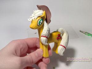 Лепим пони из полимерной глины, используя минимум инструментов. Ярмарка Мастеров - ручная работа, handmade.