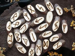 Рунические наборы из дерева (выжигание). Ярмарка Мастеров - ручная работа, handmade.