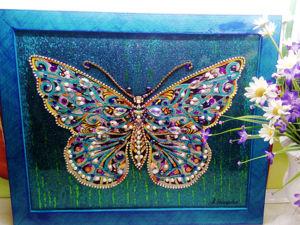Картина Бабочка. Ярмарка Мастеров - ручная работа, handmade.
