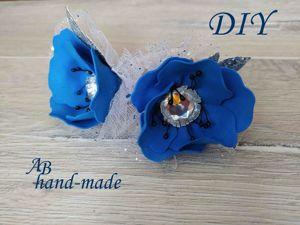 Как сделать цветочки-резиночки в школу. Ярмарка Мастеров - ручная работа, handmade.