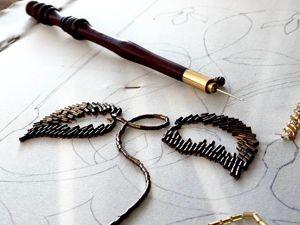 Проект по вышивке  «Витраж от Тиффани»  в процессе. Ярмарка Мастеров - ручная работа, handmade.