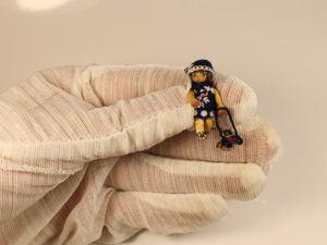 Маленькая Айка. Деревянная шарнирная миниатюра. Ярмарка Мастеров - ручная работа, handmade.
