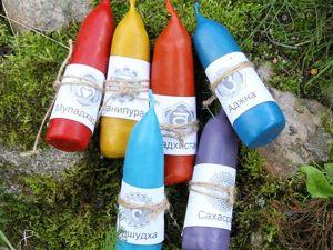 Чакровые свечи и травы. Ярмарка Мастеров - ручная работа, handmade.