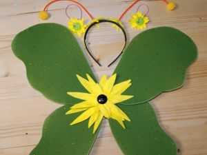 Как сделать крылья бабочки из капрона. Ярмарка Мастеров - ручная работа, handmade.