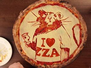 Pizza Couture: Culinary Masterpieces on Pizza. Livemaster - handmade