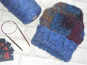 Мастер-класс по вязанию шапки пэчворком. Ярмарка Мастеров - ручная работа, handmade.