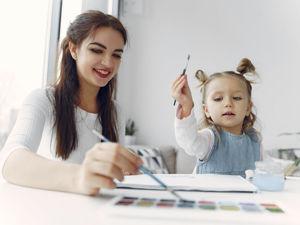 Чем заняться с детьми дома: рисование нитками, от которого дети в восторге!. Ярмарка Мастеров - ручная работа, handmade.