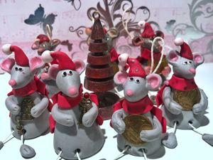 Символ года мышка —  своими руками. Ярмарка Мастеров - ручная работа, handmade.