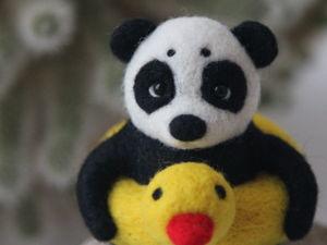 Новая панда в моем магазине!. Ярмарка Мастеров - ручная работа, handmade.