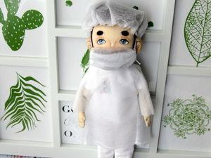 Шьём медицинский набор для кукол. Ярмарка Мастеров - ручная работа, handmade.