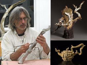 Деревянная керамика Эрика Серрителлы. Ярмарка Мастеров - ручная работа, handmade.